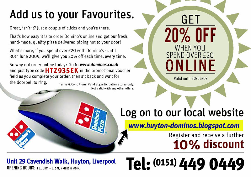 Domino's Pizza Huyton