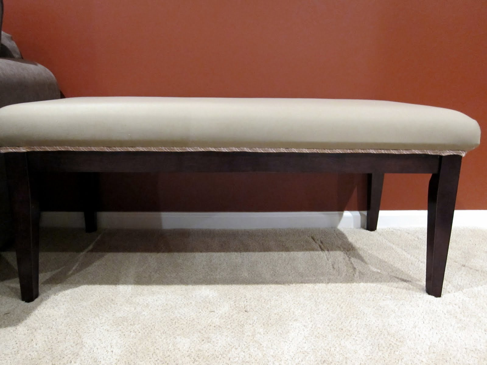 Benched: a coffee table rehab ~ Madigan Made { simple DIY ideas