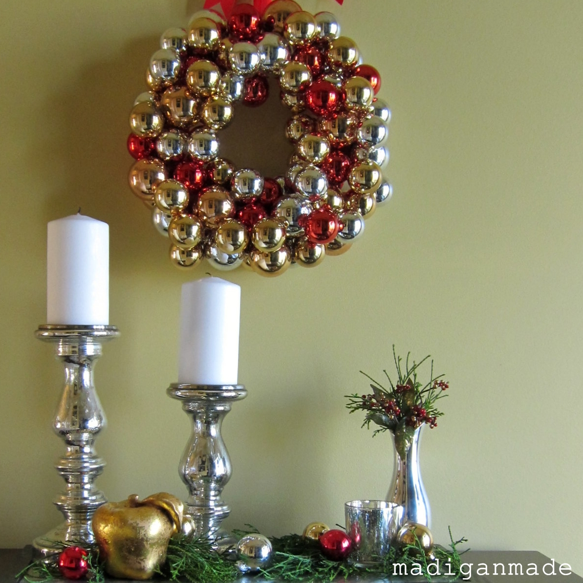 Simple steps for holiday decorating {a house tour} ~ Madigan Made ...