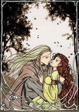beso entre elfos