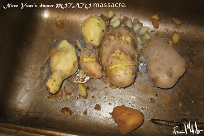 New Year's dinner POTATO massacre