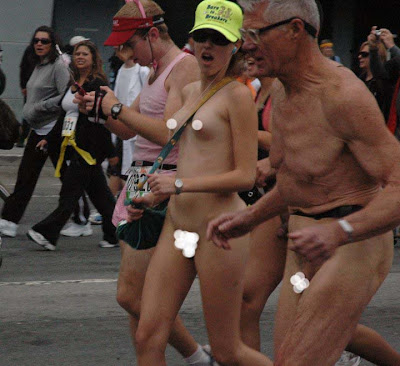 Posted in: naked running,SF Bay to Breakers
