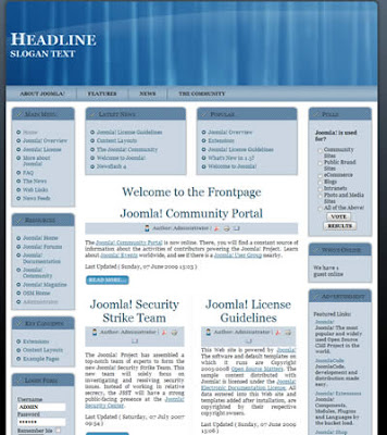 free joomla 1.5 template business