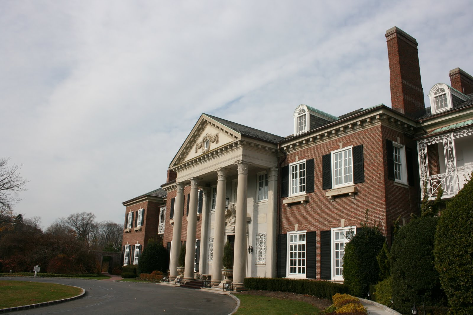 Vaclav S Hovel Glen Cove Mansion And Environs
