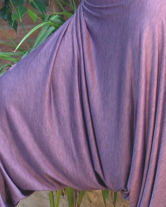 Chiripá en seda fría
