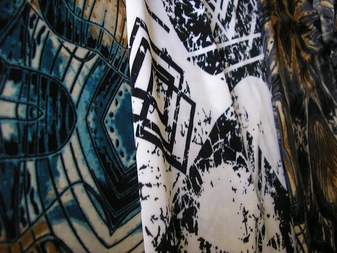Muestras de seda fría para babuchas chiripá