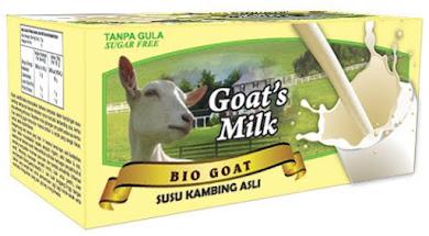 Susu kambing Bio Goat (kotak-tanpa gula) (RM35)
