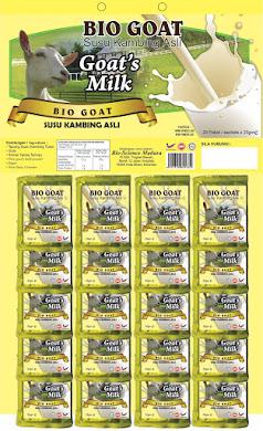 Susu Kambing Plus Krimer & Gula (Papan) - RM22