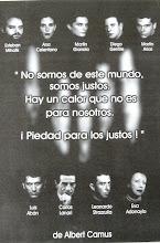 LOS JUSTOS, de Albert Camus