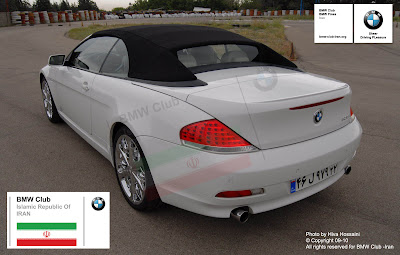 BMW 630i Tehran photo-shoot