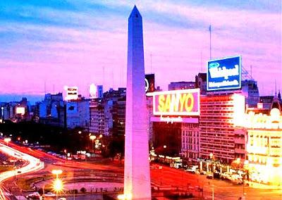 turismo en argentina, el obelisco de buenos aires, foto