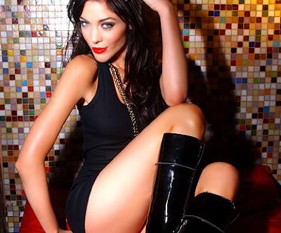 foto de la modelo argentina agustina attias