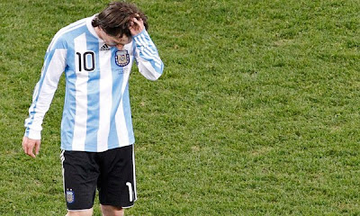 messi, fracaso en el mundial 2010