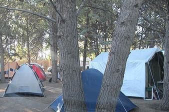 camping en las grutas argentina