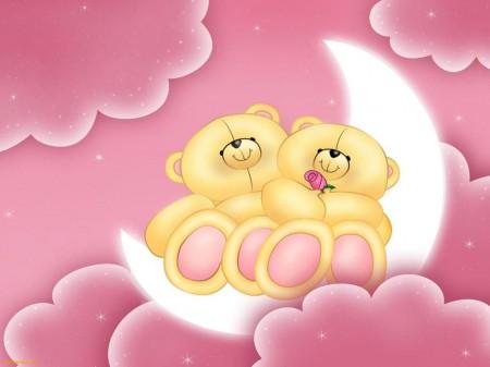 Imagenes tiernas de ositos cariñositos bebés enamorados - Imagui