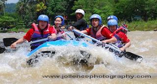 Kiulu Rafting Borneo