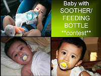 Baby with Aoother / Feeding Bottle Contest