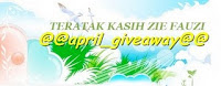 April giveaway by zie fauzie