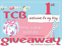 TCB 1st Giveaway