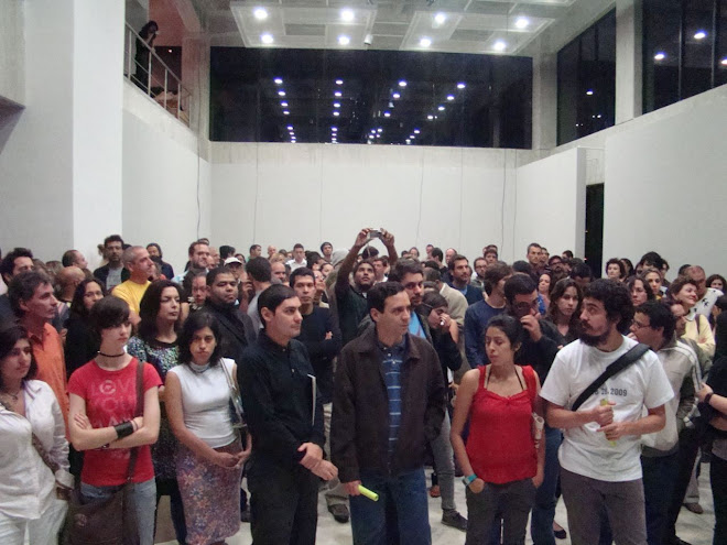 OPENING  28/02/09  PAISAJE SONORO.