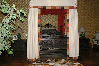 Ferdinand Marcos' room in the Romualdez Museum