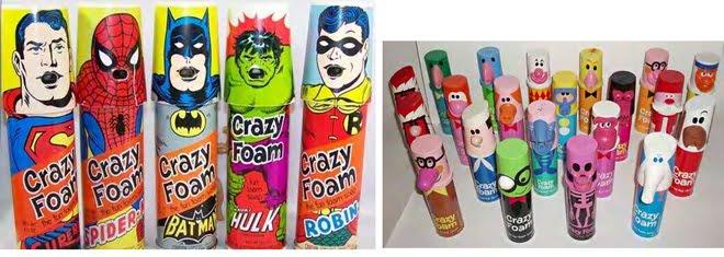 Crazy Foam: