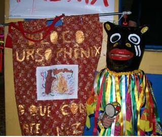 O Bloco Urso Phenix na Quarta-feira de Cinzas em Olinda