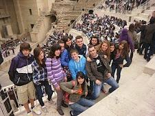 Los alumnos y el profe de Teatro en Sagunto
