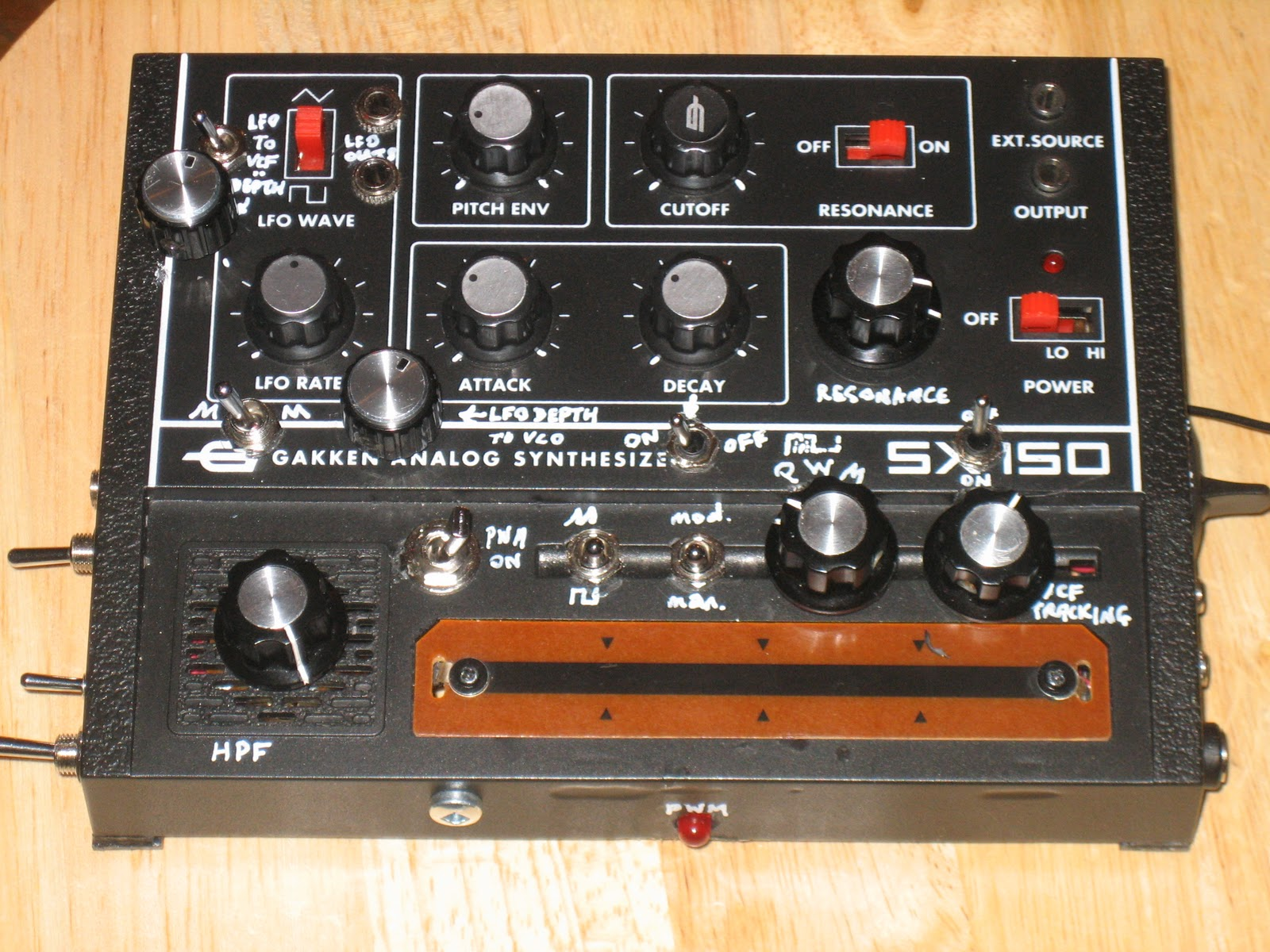Only Mission Modified Gakken Sx 150 Hacks And Mods Easy To Use Fm Radio Receiver Heres The Result Of Several For