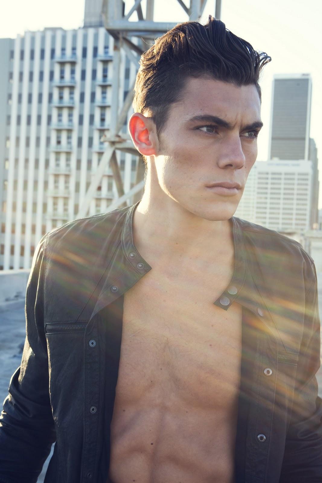 Next Models Nick Lacey Shot Christian Rios