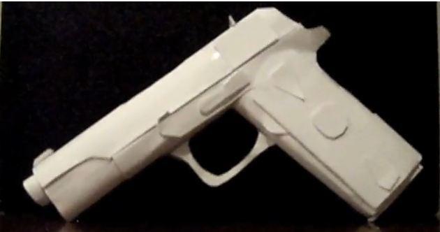 Como hacer un arma de papel?