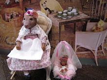 Hattie Shambles and baby Abbie