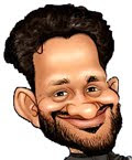 Resul pookkutty Caricatures