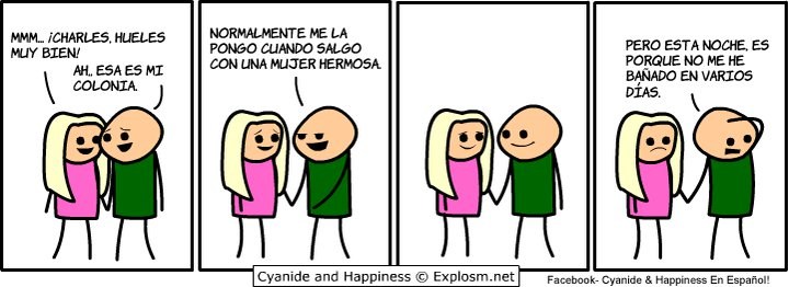 Cyanide and Happiness - Charles y su novia