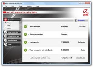 Avira Premium Security Suite 10.0.0.536