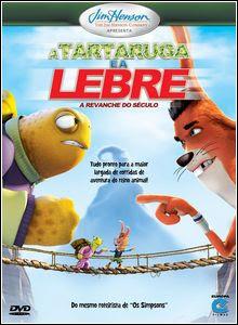 Filme Poster A Tartaruga e a Lebre: A Revanche do Século DVDRip Rmvb Dublado