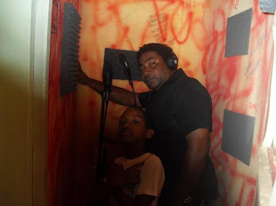 Danny English in Dialtone Studio Recording Booth