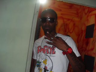 Konshens in Dialtone Studio  Recording Booth
