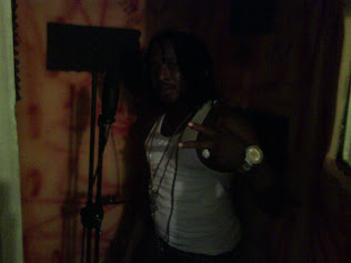 FRISCO KID IN DIALTONE RECORDING BOOTH