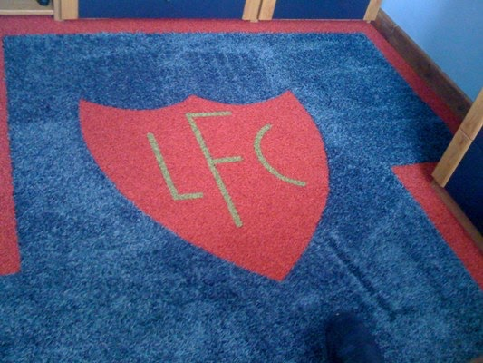 Square Vision LFC Carpet Tiles Design