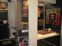 FLOR by heuga stand design at the national floor show