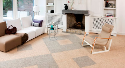 Luxury wool carpet tiles from FLOR by heuga