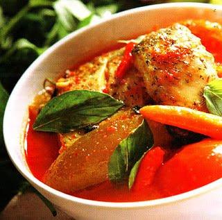 Sup ikan pedas, rasa sup ikan ini yang pedas, asam dan