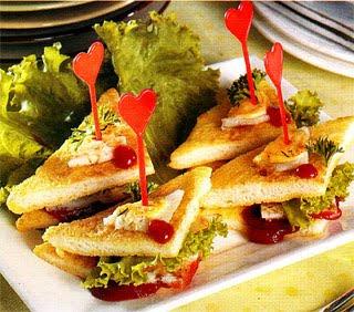 Sanwich telur+puyuh Resep Sandwich Sederhana, Lezat dan Nikmat