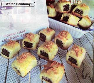 Cara Membuat Kue Kering Isi Wafer