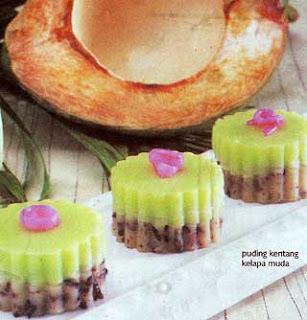 ... dan Minuman Indonesia » Blog Archive » Resep Puding Kentang Lapis