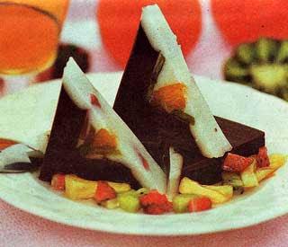 ... agar agar bubuk 1 bungkus susu kental manis coklat 50 ml coklat bubuk