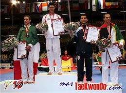 Mauro fue bronce en el mundial de Dinamarca