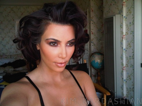 kimberly caldwell hairstyles : kim kardashian short hair kim kardashian short hair