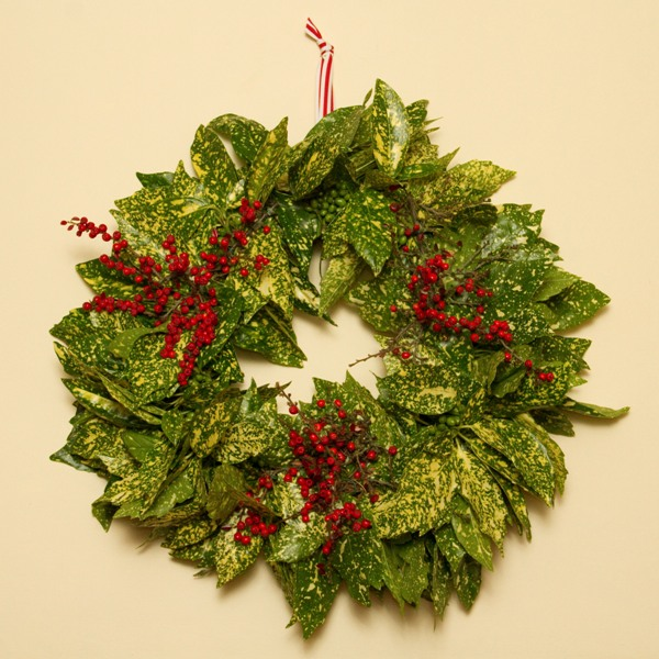 Sa dos da concha how to make a natural christmas wreath Christmas wreaths to make